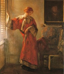 Joseph DeCamp (1858-1923) The Window Blind 1921.jpg
